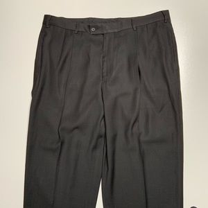 J Ferrari men's size 40x30 dress slacks